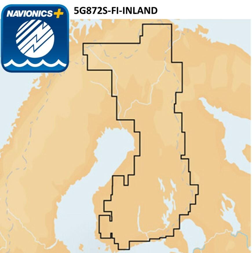 Navionics 5g872s Fi Inland Karttakortti Kalastuskauppa Suomen