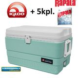 Igloo Marine 54 Light Green kylmälaatikko + 6kg Rapala eXtreme Ice Gel